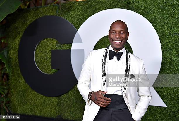 Actor/singer Tyrese Gibson attends the GQ 20th Anniversary Men Of The Year Party at Chateau Marmont on December 3 2015 in Los Angeles California