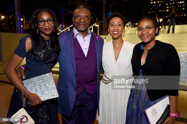 Actor/singer/comedian Keith David and actor Dionne Lea at the Center Theatre Group 50th Anniversary Celebration at Ahmanson Theatre on May 20 2017 in...