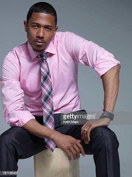 Actor/singer/host Nick Cannon is photographed for Rolling Out Magazine on June 24 2013 in New York City