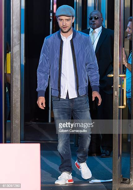 Actor/singer-songwriter Justin Timberlake attends Macy's celebrates 'Troll' at Macy's Herald Square on October 6, 2016 in New York City.