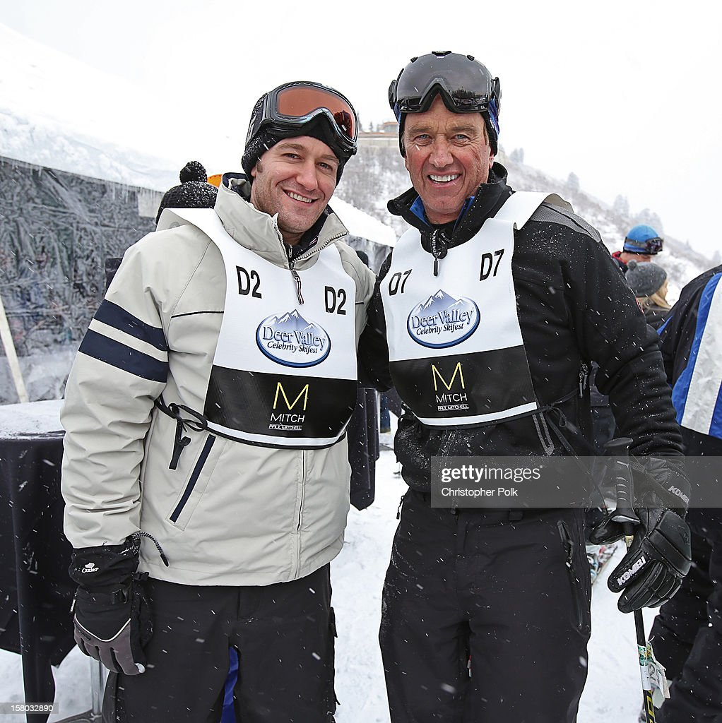 Actor/Singer/Songwriter Matthew Morrison and Attorney/Author Robert F. Kennedy Jr. attend the Deer Valley Celebrity Skifest at Deer Valley Resort on December 9, 2012 in Park City, Utah.