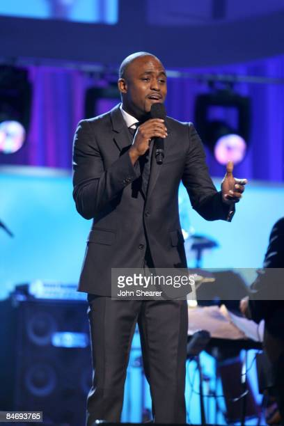 Actor/singr Wayne Brady performs onstage at the 51st Annual GRAMMY Awards pretelecast held at the Staples Center on February 8 2009 in Los Angeles...
