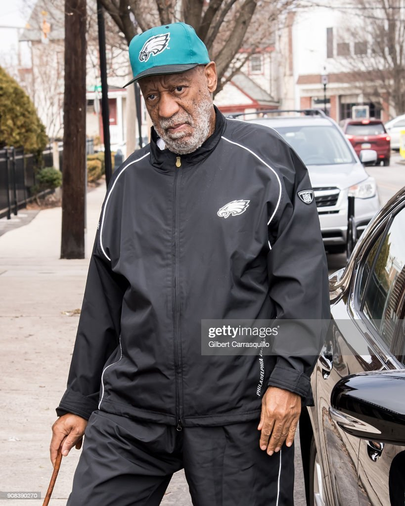 Actor stand-up comedian Bill Cosby is seen wearing Philadelphia ... fb9be851b