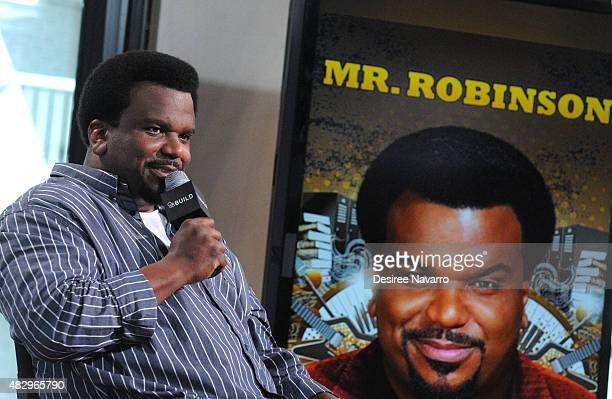 Actor/standup comedian Craig Robinson talks about his new NBC show 'Mr Robinson' during AOL Build Speaker Series Presents Craig Robinson at AOL...