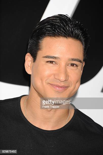 Actor/TV personality Mario Lopez arrives at the premiere of Furious 7 held at the TCL Chinese Theater in Hollywood