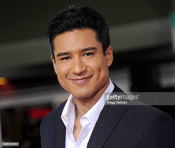 Actor/TV personality Mario Lopez arrives at the premiere of Universal Pictures' 'Hail Caesar' at Regency Village Theatre on February 1 2016 in...