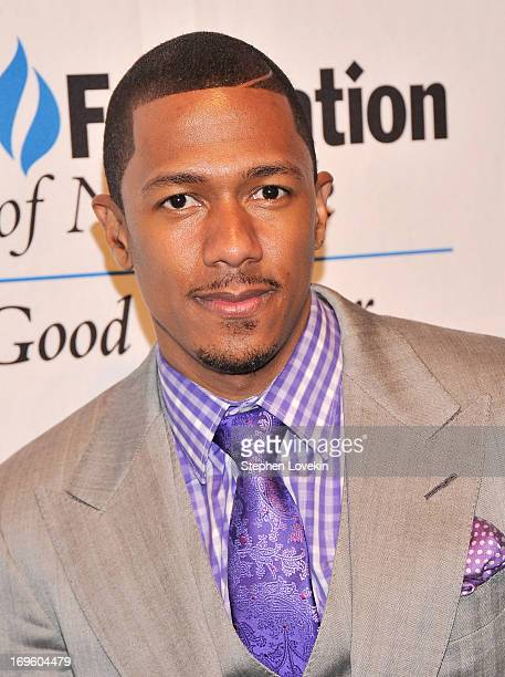 Actor/TV personality Nick Cannon attends The UJAFederation Of New York Entertainment Media And Communications Leadership Awards Dinner at Pier Sixty...