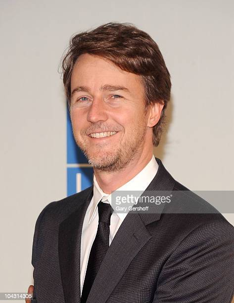 Actor/UN Goodwill Ambassador fro Bioderversity Edward Norton attends the 2010 United Nations MDG Summit kick off at American Museum of Natural...