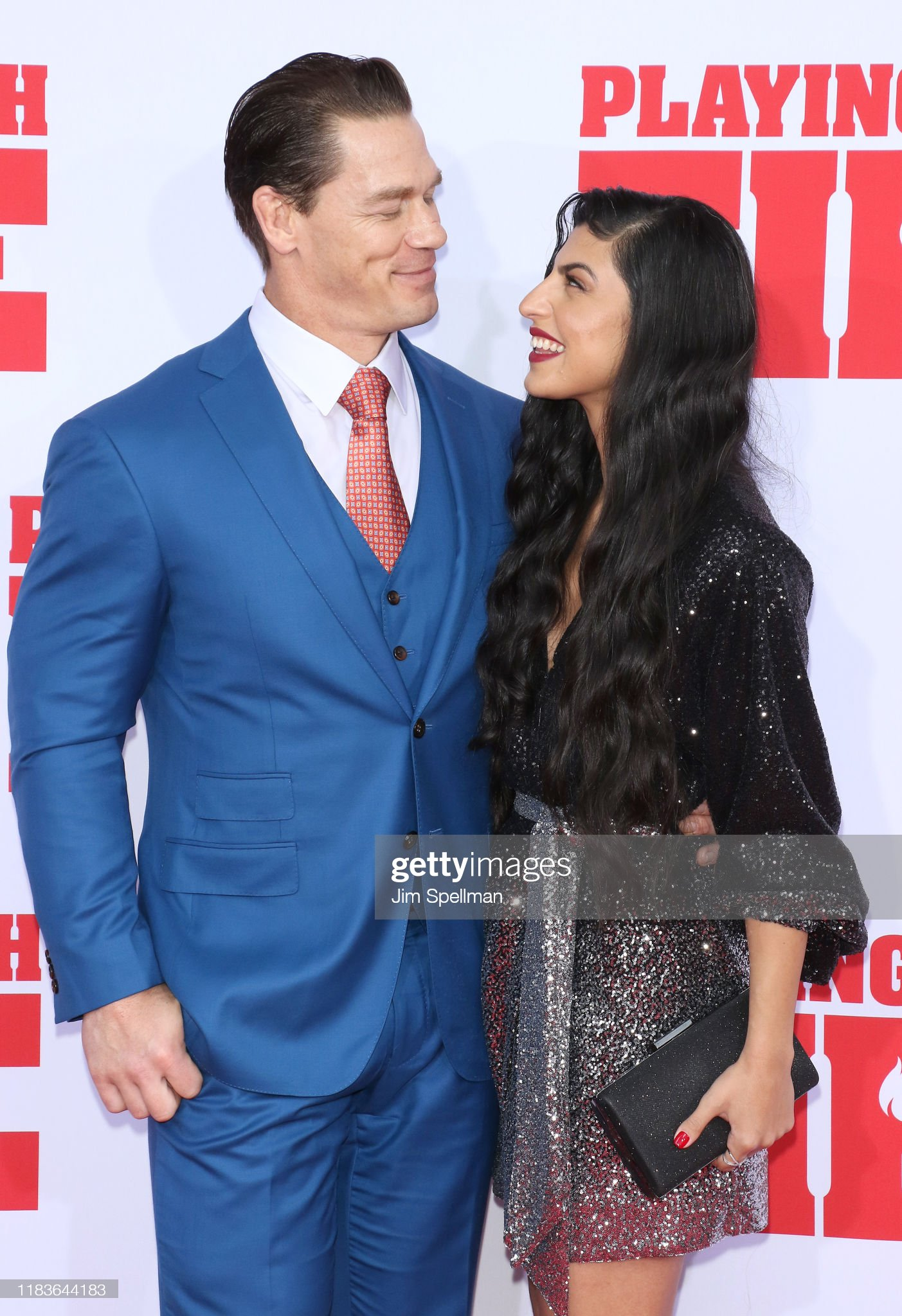 John Cena 42 Gf Shay Shariatzadeh 30 At The Premiere