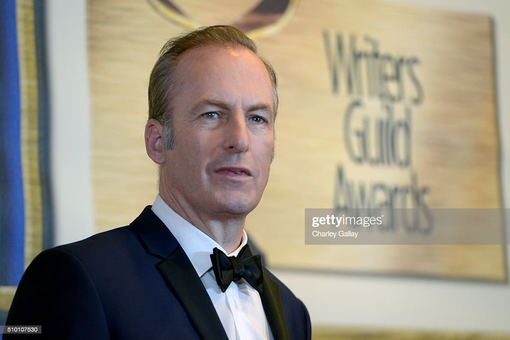 Actor/writer Bob Odenkirk poses in the Press Room during the 2016 Writers Guild Awards at the Hyatt Regency Century Plaza on February 13, 2016 in Los Angeles, California.