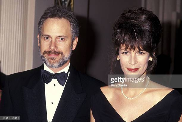 Actor/Writer Christopher Guest and actress Jamie Lee Curtis attend People for the American Way's Sixth Annual Spirit of Liberty Award Dinner on...