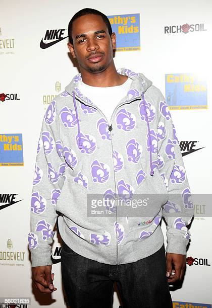 Actor/writer Damon Wayans Jr attends the 5th Anniversary of Cathy's Kids Foundation Dinner at Roosevelt Hotel on April 17 2009 in Hollywood California