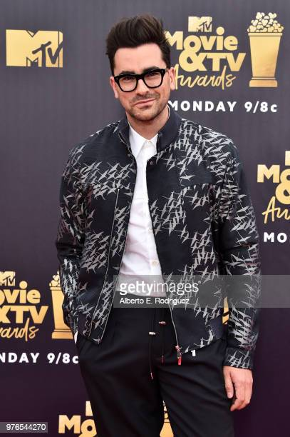 Actor-writer Daniel Levy attends the 2018 MTV Movie And TV Awards at Barker Hangar on June 16, 2018 in Santa Monica, California.