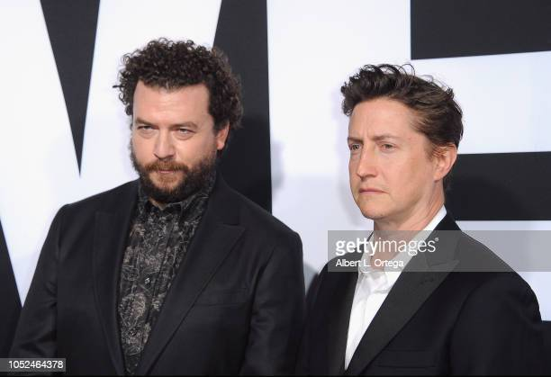 Actor/writer Danny McBride and director/writer David Gordon Green arrive for the Universal Pictures' 'Halloween' Premiere held at TCL Chinese Theatre...