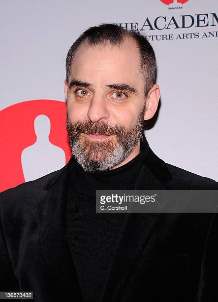 Actor/writer David Rakoff attends the Academy of Motion Picture Arts Sciences New York Oscar night party at GILT at The New York Palace Hotel on...