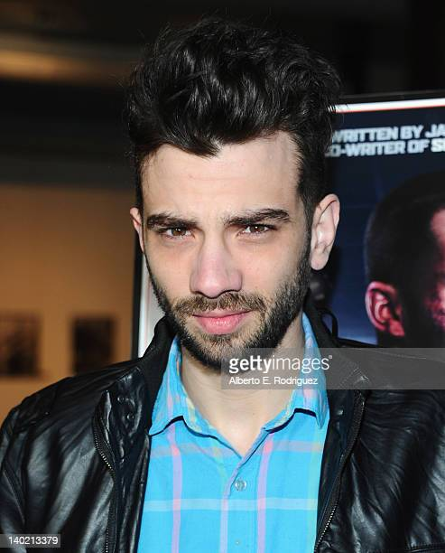 Actor/writer Jay Baruchel arrive at Magnet Releasing's Los Angeles Screening of 'Goon' at DGA Theater on February 29 2012 in Los Angeles California