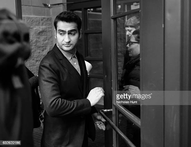 Actor/writer Kumail Nanjiani attends the 'The Big Sick' premiere during day 2 of the 2017 Sundance Film Festival at Eccles Center Theatre on January...