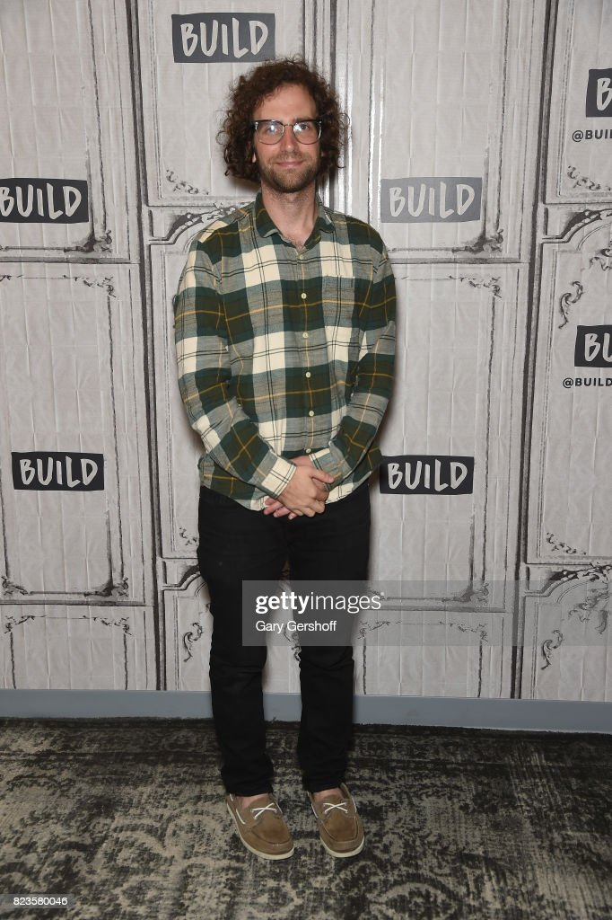 Actor/writer Kyle Mooney visits Build Series to discuss the new film 'Brigsby Bear' at Build Studio on July 27, 2017 in New York City.