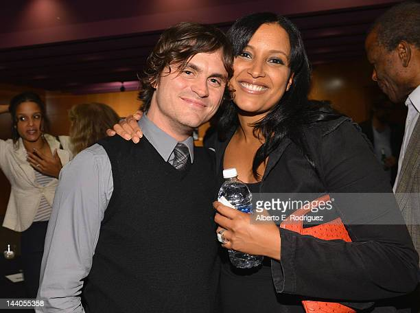 Actor/writer Leandro DiMonriva and director Anika Poitier attend the 2012 AFI Women Directors Showcase at Directors Guild Of America on May 8, 2012...