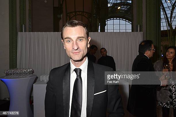 Actor/writer Renaud Duval attends the 'Diamond Night by Divinescence Vendome' Harumi Klossowska Jewellery Exhibition Preview As Part Of Art Paris Art...