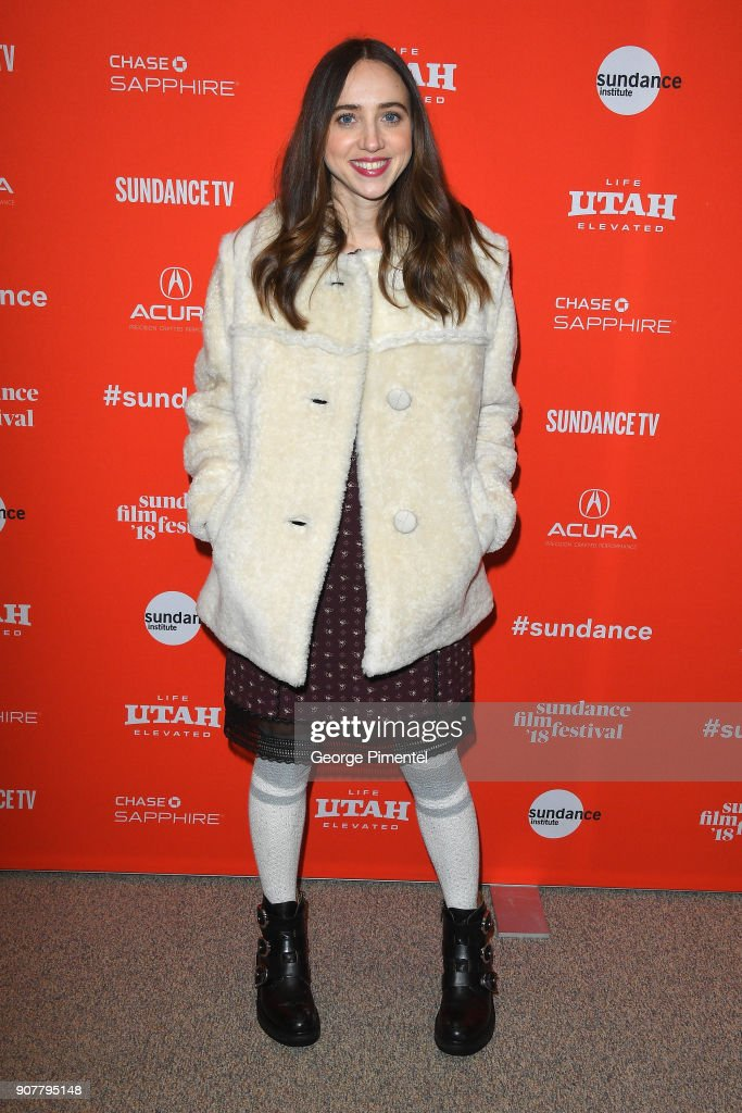 Actor/writer Zoe Kazan attends the 'Wildlife' Premiere during the 2018 Sundance Film Festival at Eccles Center Theatre on January 20, 2018 in Park City, Utah.