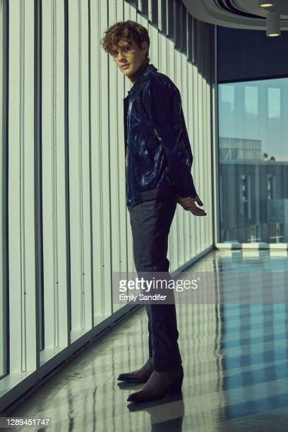 Actor/writer/director Hunter Doohan is photographed on September 29, 2020 in West Hollywood, California.