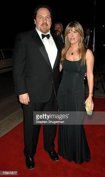 Actor/writer/director Jon Favreau and wife Joya Tillem arrive at the 18th Annual Palm Springs International Film Festival 2007 Gala Awards...