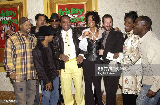 "Actor/writer/producer Ice Cube, Mike Epps, Don ""D.C."" Curry, John Witherspoon, K.D. Aubert, director Marcus Raboy, Anna Maria Horsford and Clifton..."