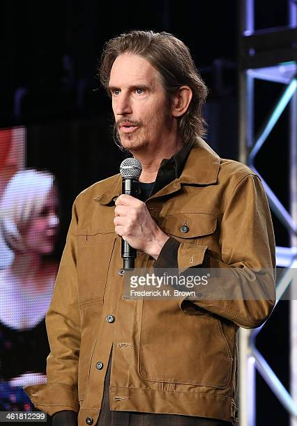 Actor/Writer/Producer Ray McKinnon speaks onstage during the 'Sundance Channel - Rectify' panel discussion at the AMC/Sundance portion of the 2014...