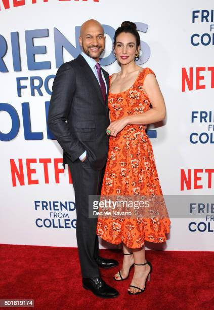 Actos KeeganMichael Key and Annie Parisse attend 'Friends From College' New York Premiere at AMC 34th Street on June 26 2017 in New York City