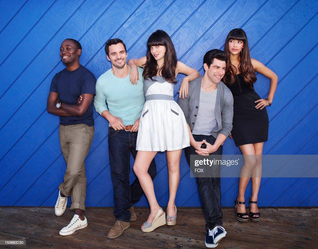 FOX's 'New Girl' - Season Two : Nachrichtenfoto