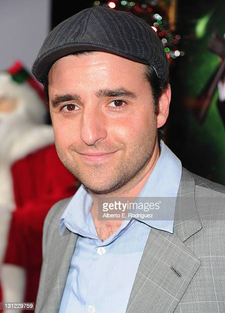 Actpr Davod Krumhiltzarrives to the premiere of New Line Cinema's 'A Very Harold Kumar 3D Christmas' at Grauman's Chinese Theatre on November 2 2011...