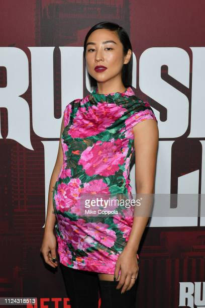Actrdd Greta Lee attends Netflix's Russian Doll Season 1 Premiere at Metrograph on January 23 2019 in New York City