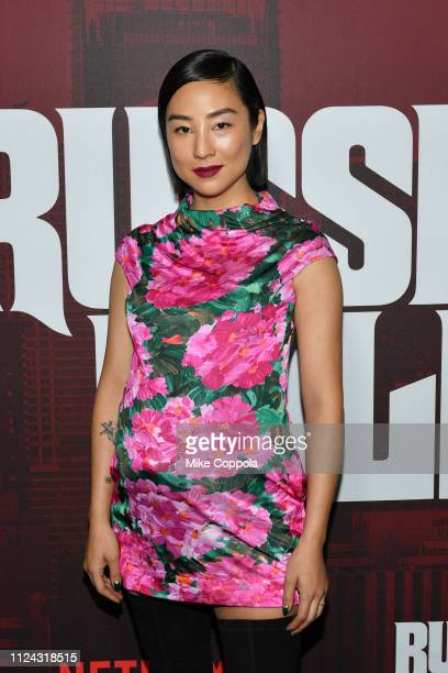 """Actrdd Greta Lee attends Netflix's """"Russian Doll"""" Season 1 Premiere at Metrograph on January 23, 2019 in New York City."""