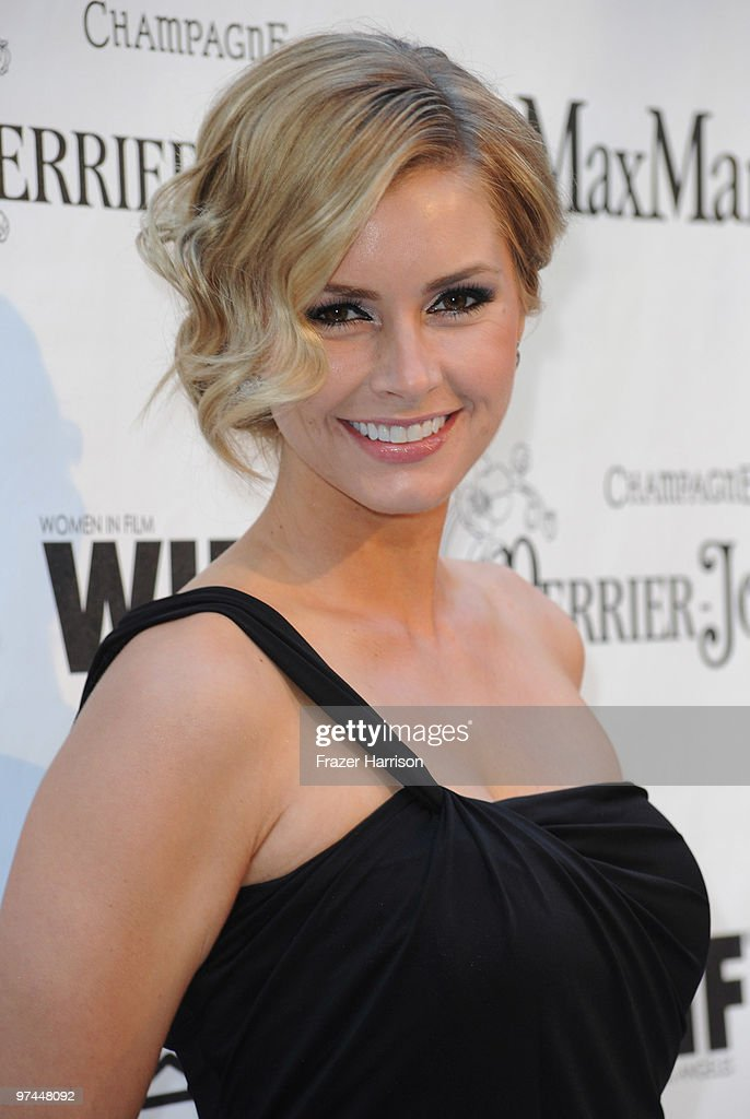 Actreee Brianna Brown arrives at the 3rd Annual Women In Film Pre-Oscar Party at a private residence in Bel Air on March 4, 2010 in Los Angeles, California.