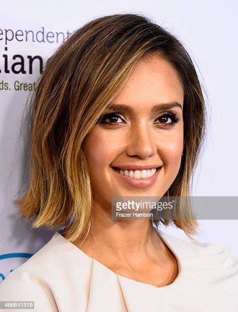 Actrees Jessica Alba arrives at The Independent School Alliance For Minority Affairs Impact Awards Dinner Arrivals at Four Seasons Hotel Los Angeles...