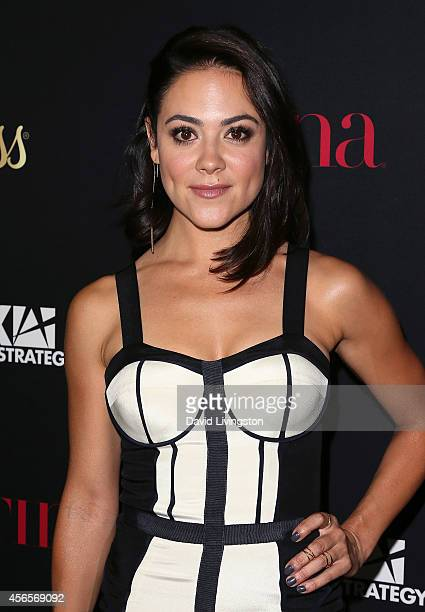 Actreess Camille Guaty attends LATINA Magazine's Hollywood Hot List party at the Sunset Tower Hotel on October 2 2014 in West Hollywood California