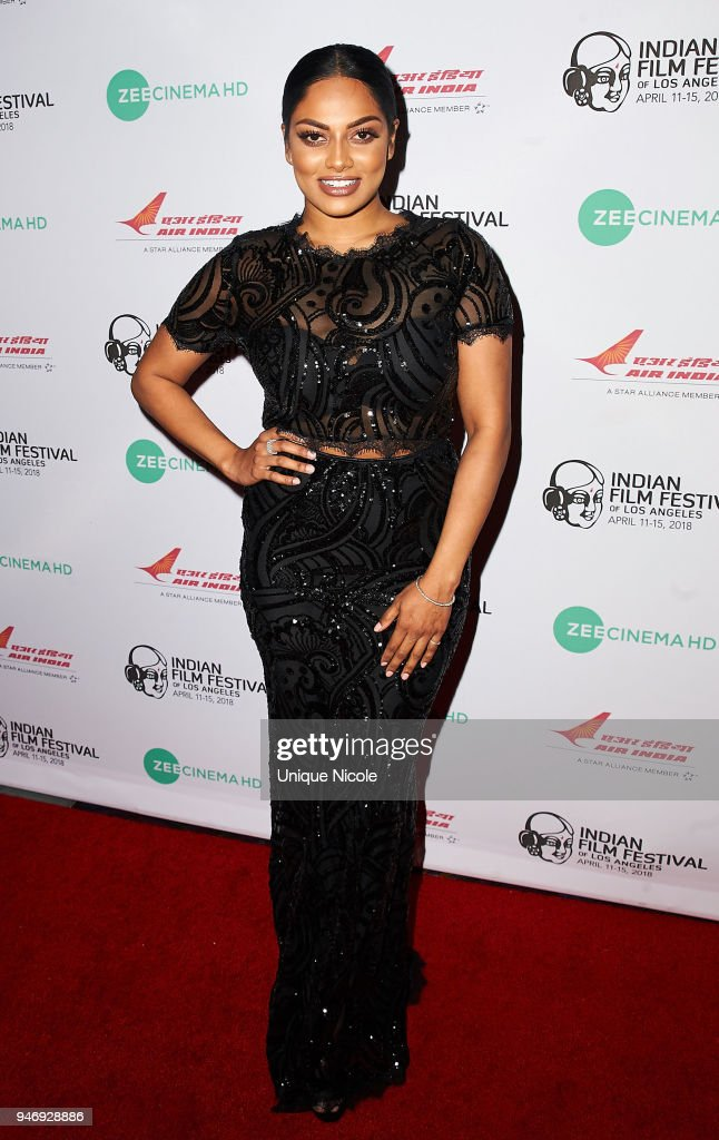 Actreess/Model Chandrika Ravi attends the Closing Night Red Carpet 16th Annual Indian Film Festival Of Los Angeles at Regal Cinemas L.A. Live on April 15, 2018 in Los Angeles, California.