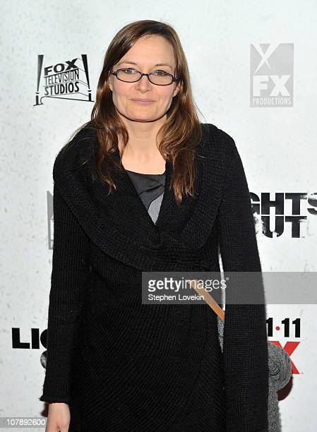 Actrers Catherine McCormack attends the premiere of Lights Out at Hudson Theatre on January 5 2011 in New York City