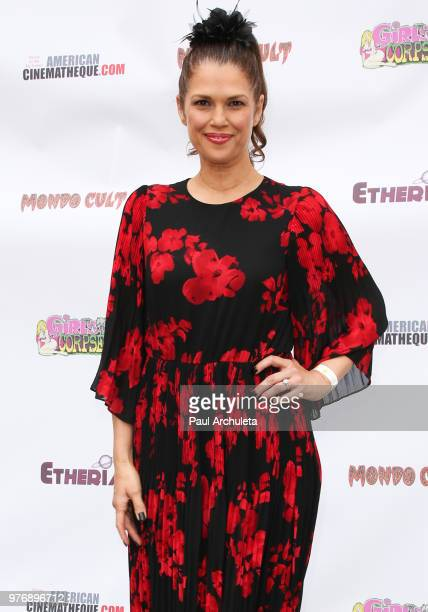 Actrerss Kristina Aaryn Martin attends the Etheria Film Night at the Egyptian Theatre on June 16 2018 in Hollywood California