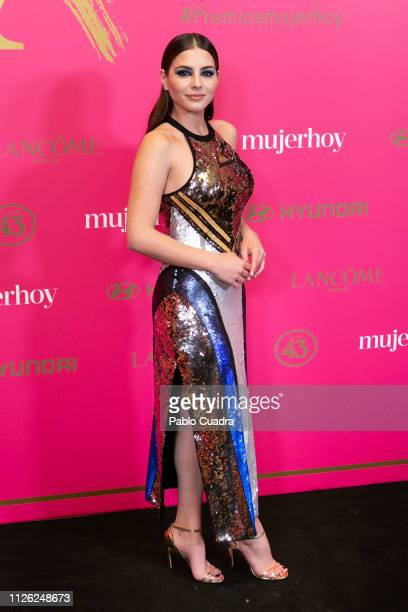Actres Andrea Duro attends the 10th 'MujerHoy' awards at 'Casino de Madrid' on January 30 2019 in Madrid Spain