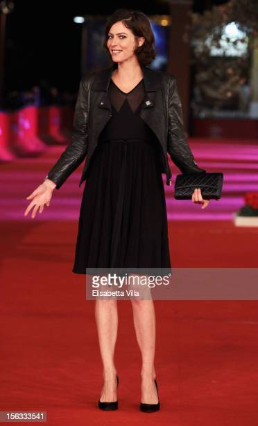Actres Anna Mouglalis attends the 'Photo' Premiere during the 7th Rome Film Festival at the Auditorium Parco Della Musica on November 13 2012 in Rome...