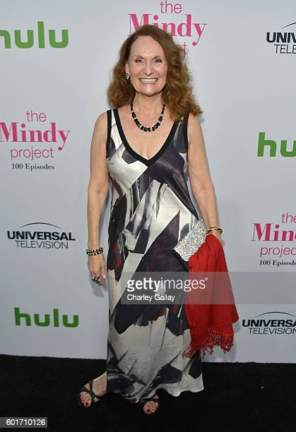 Actres Beth Grant attends The Mindy Project 100th Episode Party at EP LP on September 9 2016 in West Hollywood California