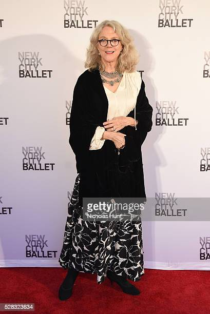 Actres Blythe Danner attends New York City Ballet's Spring Gala at David H Koch Theater at Lincoln Center on May 4 2016 in New York City