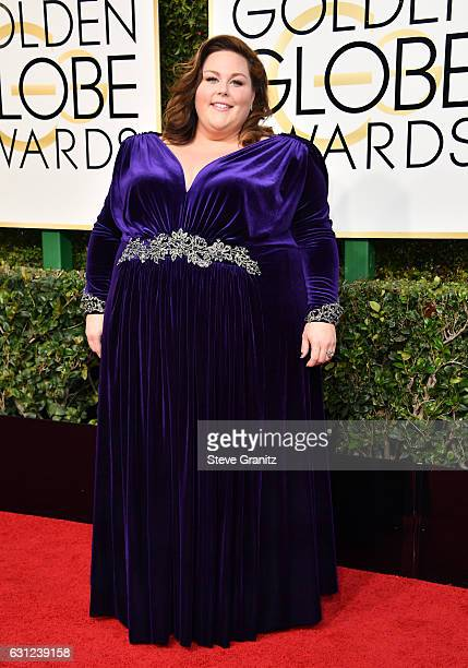 Actres Chrissy Metz attends the 74th Annual Golden Globe Awards at The Beverly Hilton Hotel on January 8 2017 in Beverly Hills California