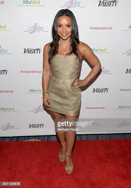 Actres Danielle Nicolet attends the AltaMed Power Up We Are The Future Gala at the Beverly Wilshire Four Seasons Hotel on May 12 2016 in Beverly...