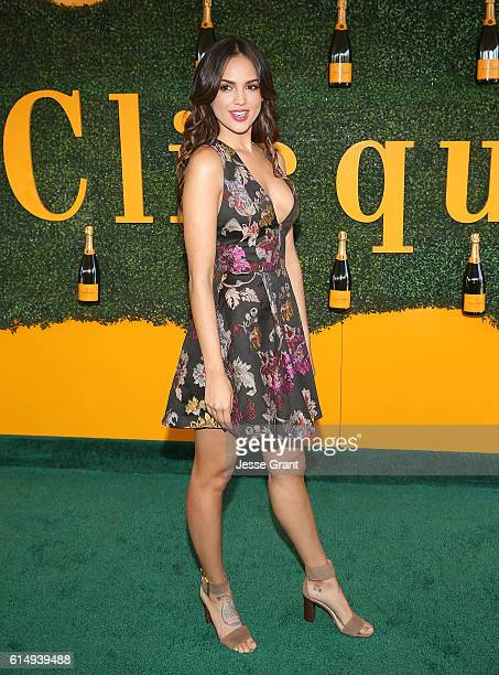 Actres Eiza Gonzalez Reyna attends the 7th Annual Veuve Clicquot Polo Classic at Will Rogers State Historic Park on October 15 2016 in Pacific...