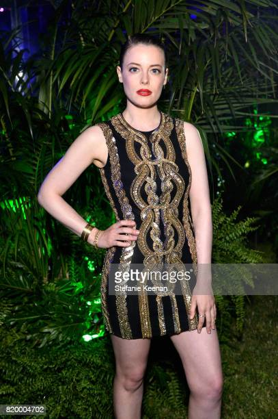 Actres Gillian Jacobs at BALMAIN celebrates first Los Angeles boutique opening and Beats by Dre collaboration on July 20 2017 in Beverly Hills...
