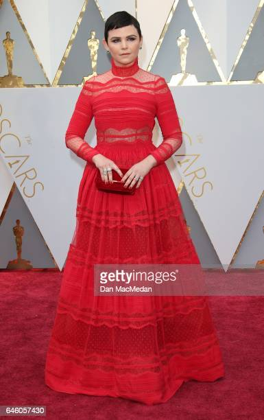 Actres Ginnifer Goodwin arrives at the 89th Annual Academy Awards at Hollywood Highland Center on February 26 2017 in Hollywood California