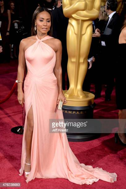 Actres Jada Pinkett Smith attends the Oscars held at Hollywood Highland Center on March 2 2014 in Hollywood California